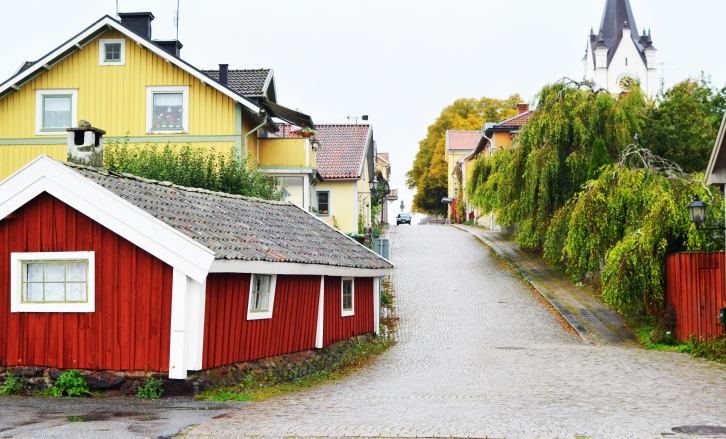 I loved this picturesque town in the middle of Sweden. (Photo by Clay Myers-Bowman)