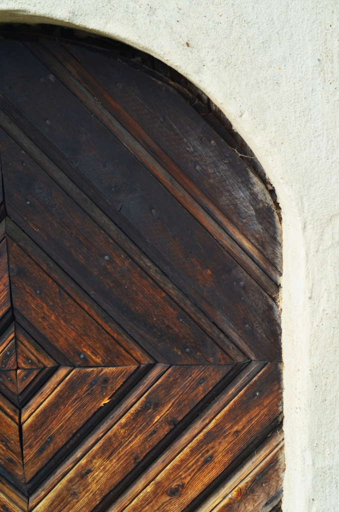 Cool door we saw during our visit there last fall. (Photo by Clay Myers-Bowman)