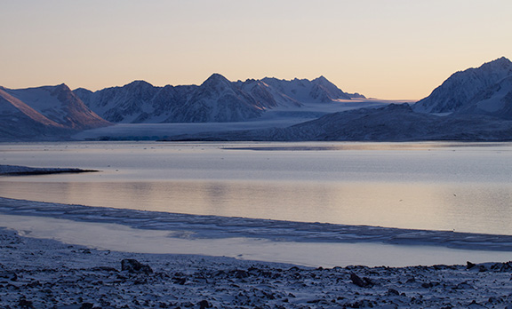 Svalbard Archipelago. Photo by Chantal Bilodeau