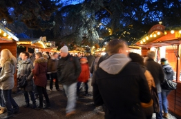 The Christmas Markets were PACKED.