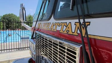 MFD firetruck! Photo by Frankie Hutchinson.