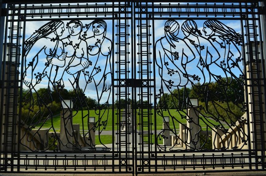 Vigeland Gate